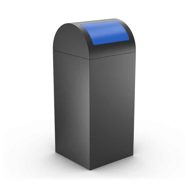 CALIFORNIA Design Litter Bin for Office - Blue