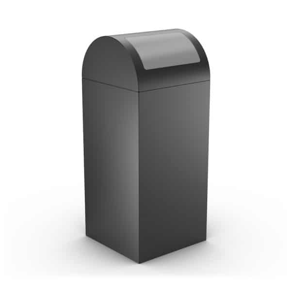 CALIFORNIA Design Litter Bin for Office - Gray
