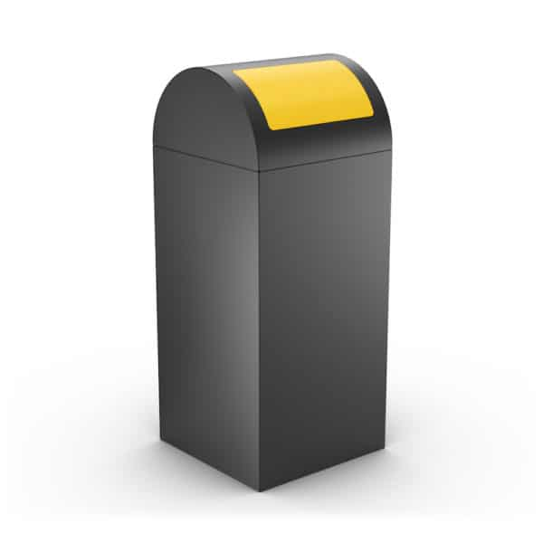 CALIFORNIA Design Litter Bin for Office - Yellow