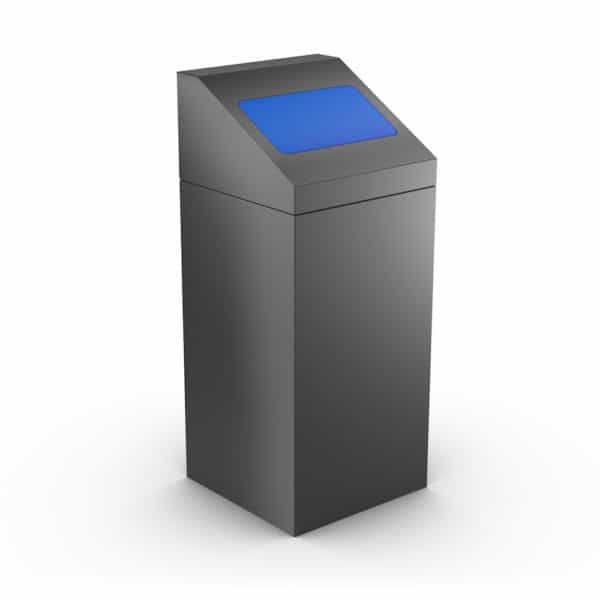 FLORIDA Modular Trash Can for Office - Blue