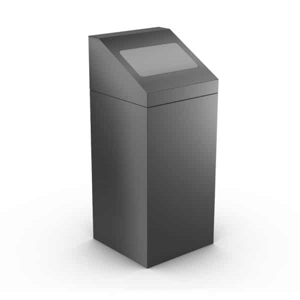 FLORIDA Modular Trash Can for Office - Gray