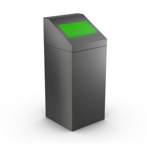 FLORIDA Modular Trash Can for Office - Green